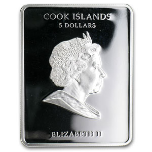 2011 Cook Islands Proof Silver $5 Hetmans Bohdan Khmelnytsky